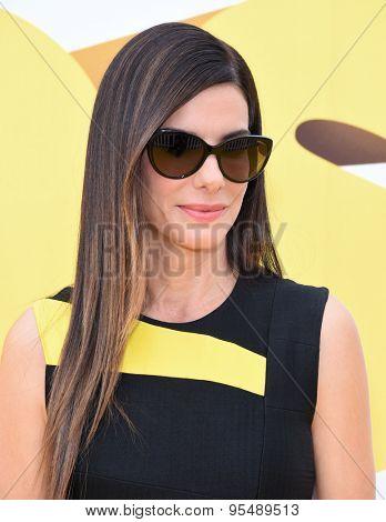 LOS ANGELES - JUN 27:  Sandra Bullock arrives to the