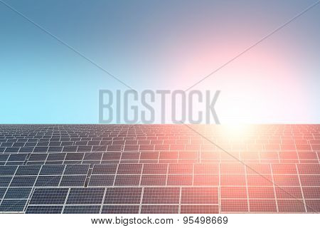 Solar Battery With Highlight