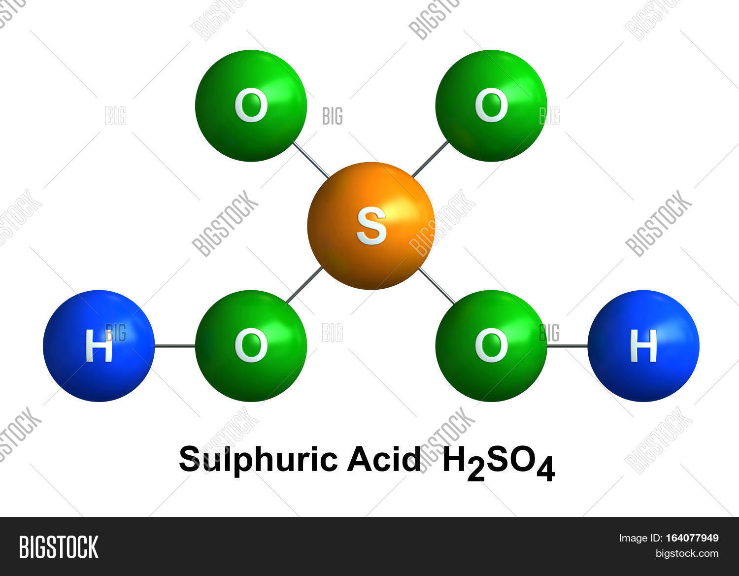 3d render molecular structure image photo bigstock 3d render of molecular structure of sulfuric acid isolated over white background atoms are represented as buycottarizona Image collections