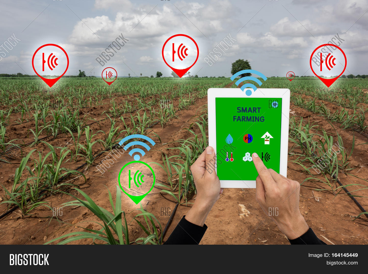 Internet Things Agriculture Concept Image Amp Photo Bigstock