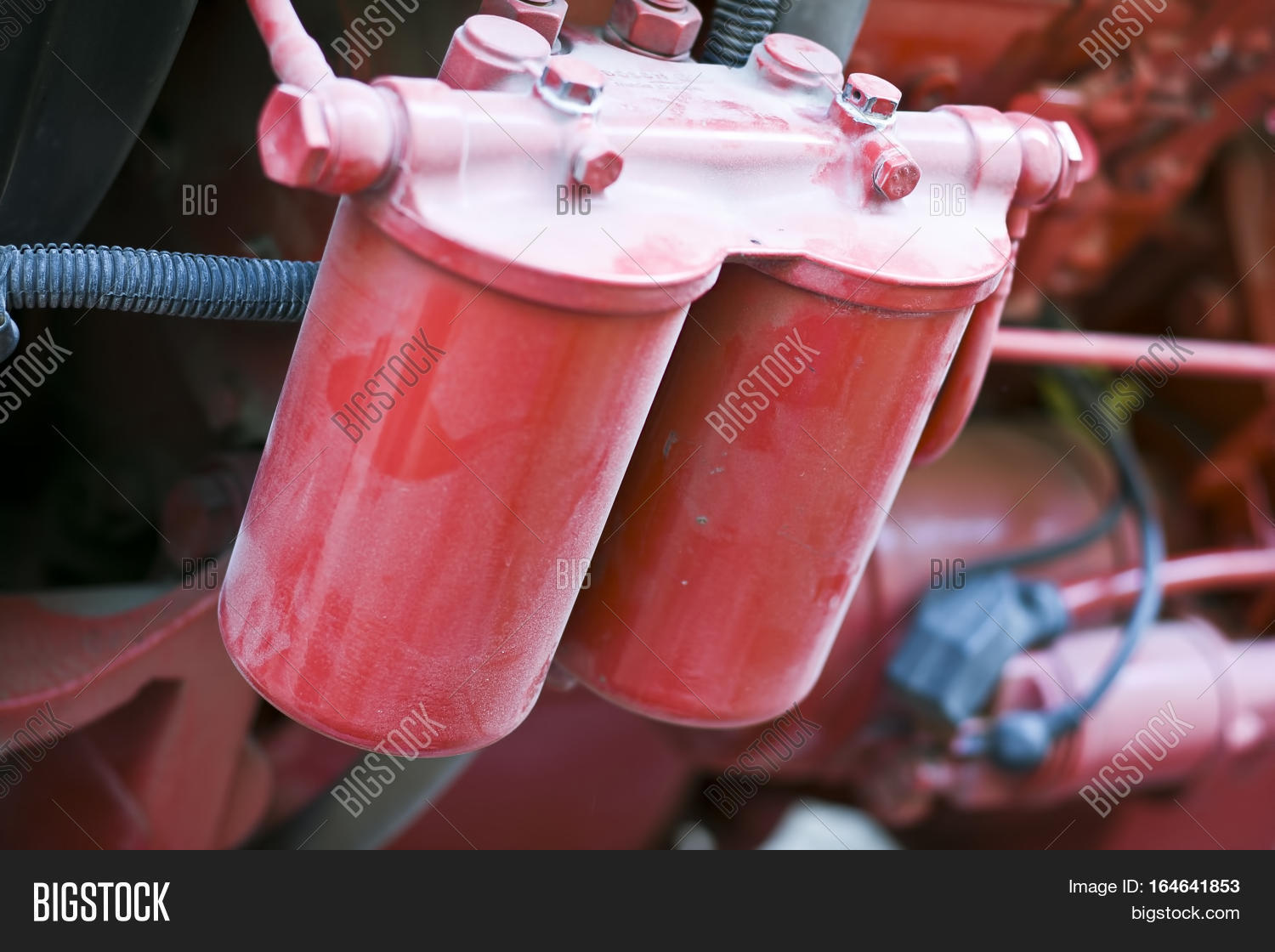 Parts Tractor Engine Image & Photo (Free Trial)   Bigstock