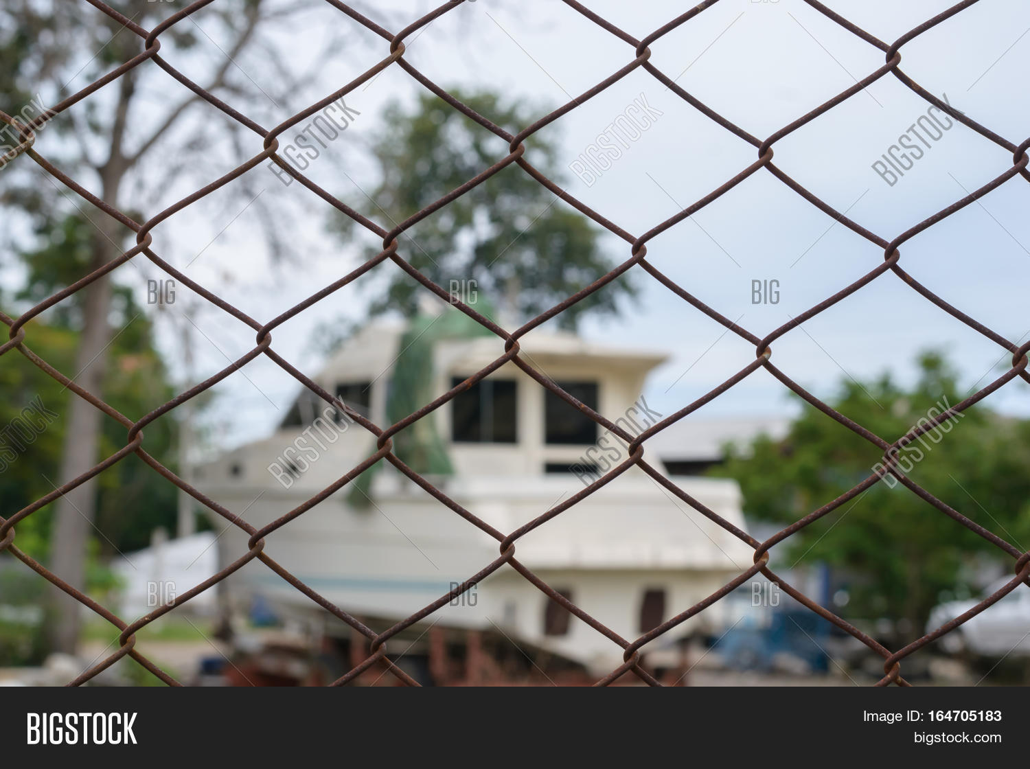 Steel Wire Mesh Fence Image & Photo (Free Trial) | Bigstock