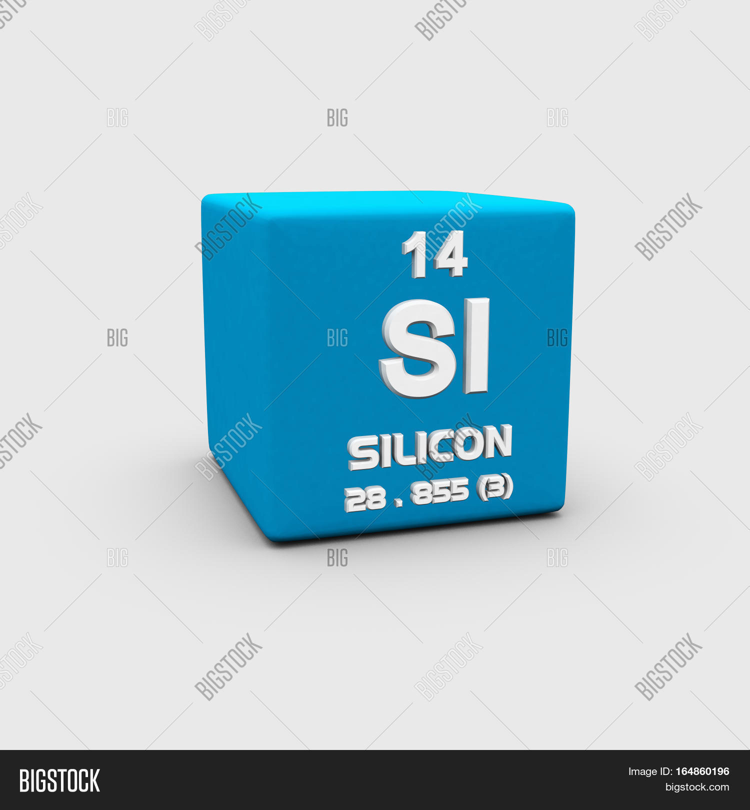 Silicon Chemical Image Photo Free Trial Bigstock