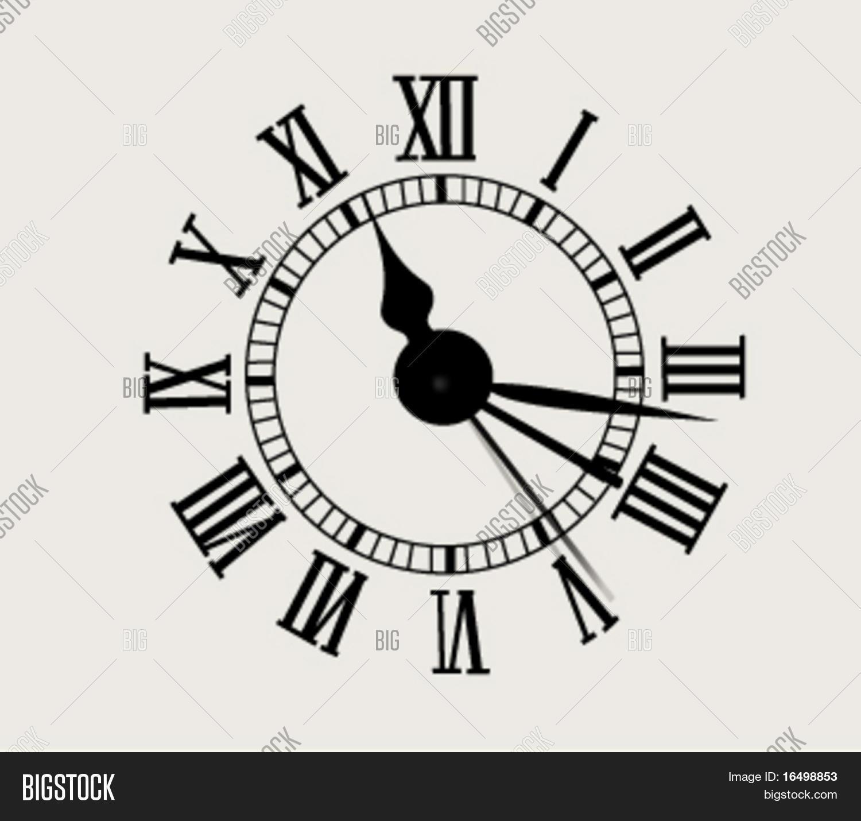antique clock face vector photo free trial bigstock