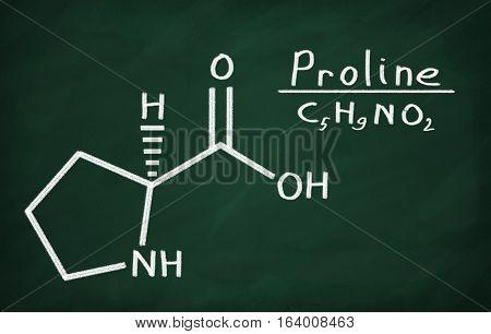 Structural Model Of Proline