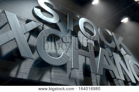 Modern Stock Exchange Signage
