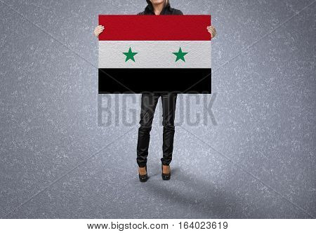 SYRIA State, SYRIA Flag Design and Presentation
