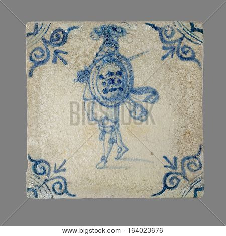 Dutch Tile From The 16Th To The 18Th Century