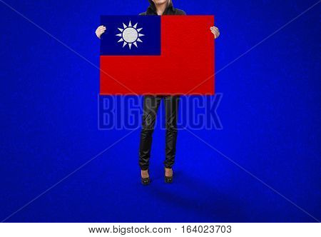 TAIWAN State, TAIWAN Flag Design and Presentation