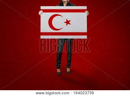 Turkish Republic of Northern Cyprus, Turkish Republic of Northern Cyprus Flag Design and Presentation