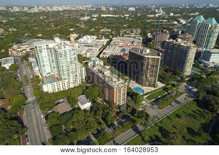 Architecture in Coconut Grove Miami Florida USA