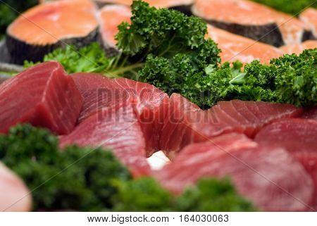 Fresh Tuna Steaks