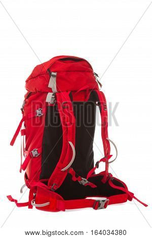 Hiking Backpack isolated on the  white background