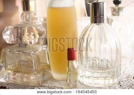 charm appeal and beauty with perfumes bottle