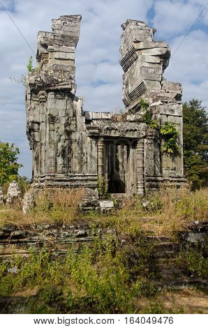 Phnom Bok is a small Angkorian temple located on a small mountain outside the town of Siem Reap.