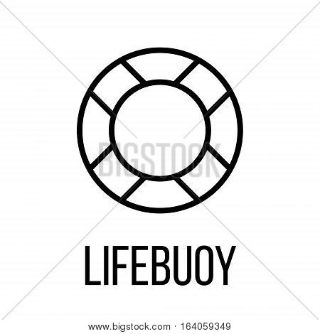 Lifebuyo icon or logo in modern line style. High quality black outline pictogram for web site design and mobile apps. Vector illustration on a white background.