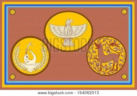 Flag of Eastern Province is one of the nine provinces of Sri Lanka