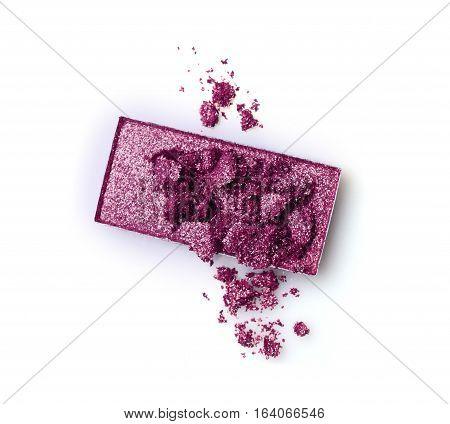 Crushed Eyeshadow Of Purple Color