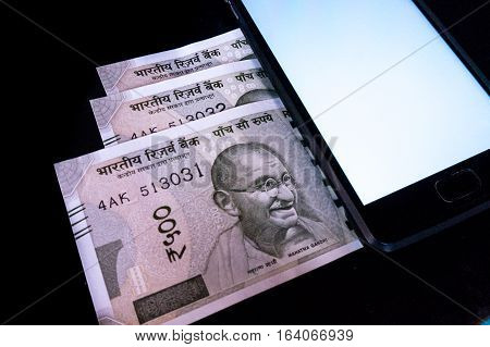 With the ban of currency notes in Demonitization people have moved more to electronic methods of payment via mobile phones