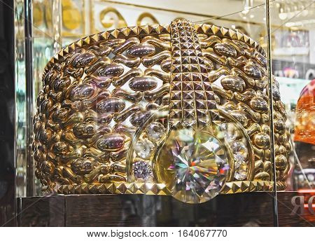 The Biggest Gold Ring In The World, Largest And Heaviest Gold Ring, Dubai 14 April 2014