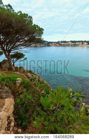 Summer Palamos Coast, Spain.