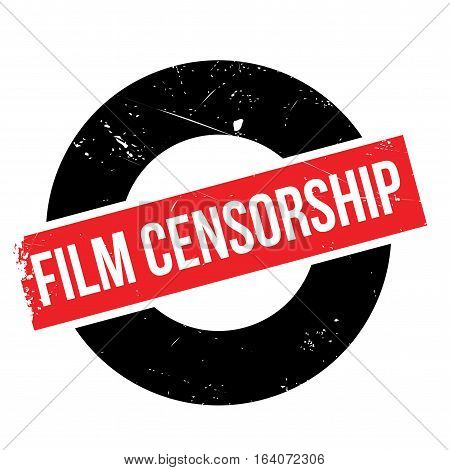 Film Censorship rubber stamp. Grunge design with dust scratches. Effects can be easily removed for a clean, crisp look. Color is easily changed.