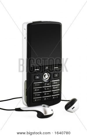 Music Mobile Phone (Include Clipping Path)