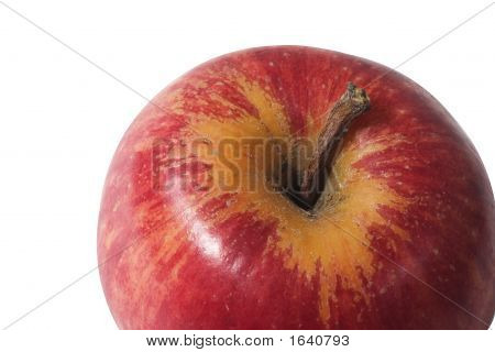 Red Apple Close Up
