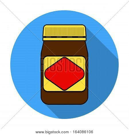 Australian food spread icon in flat design isolated on white background. Australia symbol stock vector illustration.