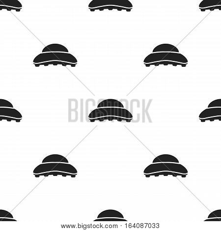 Comb icon in black style isolated on white background. Hairdressery pattern vector illustration.