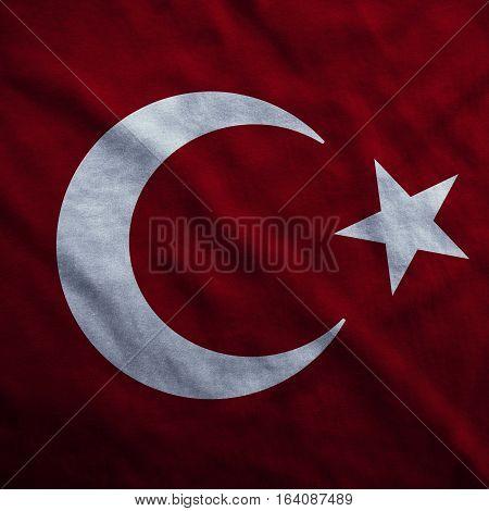 Flag Turkish Flag Design and Presentation, Turkey