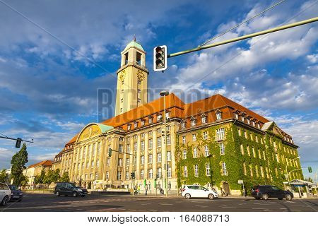 Building Of Berlin-spandau Town Hall (rathaus Spandau), Germany