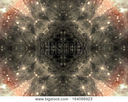 Beautiful spiritual mysterious esoteric horizontal artistic image background