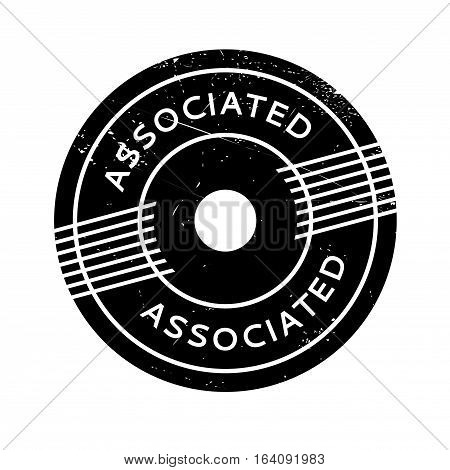 Associated rubber stamp. Grunge design with dust scratches. Effects can be easily removed for a clean, crisp look. Color is easily changed.
