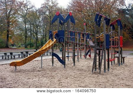 Children Playground in middle of the park