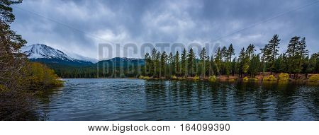 Manzanita Lake Lassen Volcanic National Park northern California
