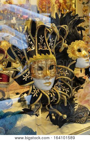 Venetian Masks In Store