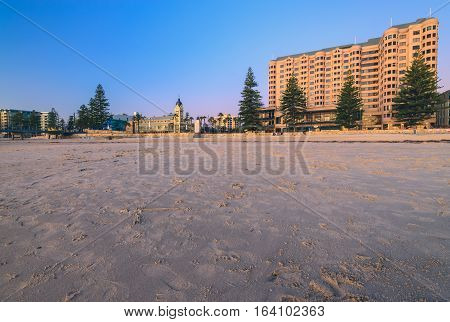 Glenelg Beach is one of the most famous tourist attractions in South Australia