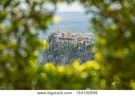 Mt.Popa home of the