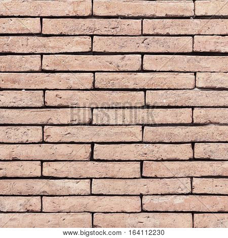 Brick wall texture or brick wall background. Grunge retro vintage of brick wall. Part of old brick wall for design with copy space for text or image.