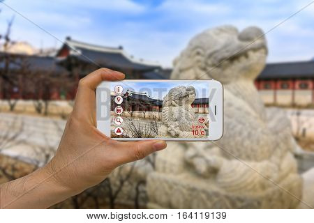 Application Of Artificial Intelligence, Ai, And Augmented Reality, Ar, In Traveling And Tourism Busi
