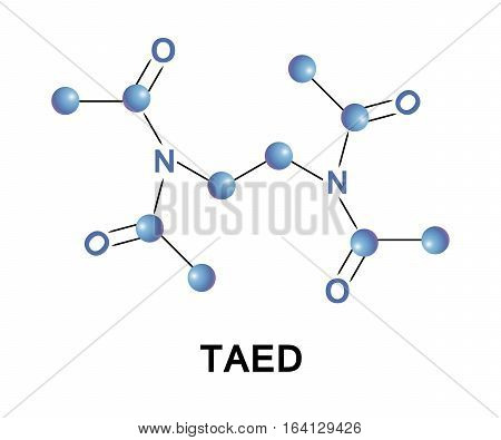 Tetraacetylethylenediamine, TAED, is produced by acetylation of ethylenediamine.