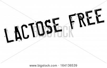 Lactose Free rubber stamp. Grunge design with dust scratches. Effects can be easily removed for a clean, crisp look. Color is easily changed.