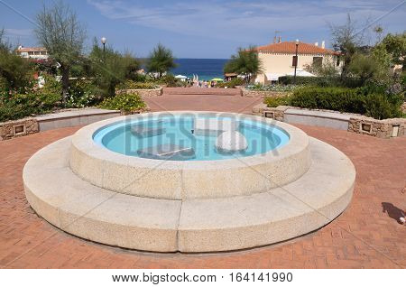 BAIA SARDINIA ESMERALD COST Sardinia Italy at summer