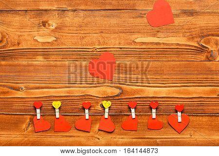 Valentine Heart With Emoji Pegs
