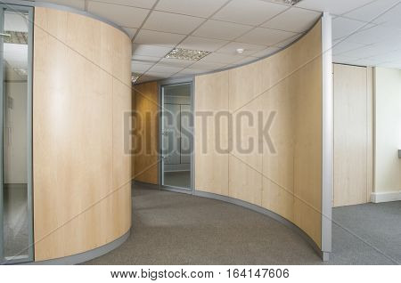 Curved Office Partitions