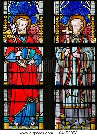 Stained Glass - St Peter And St Francis Xavier
