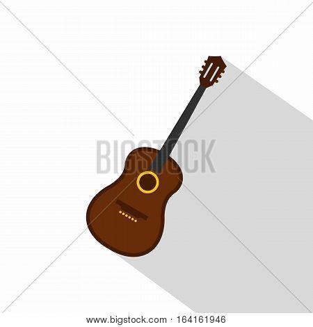 Charango, music instrument icon. Flat illustration of charango, music instrument vector icon for web isolated on white background