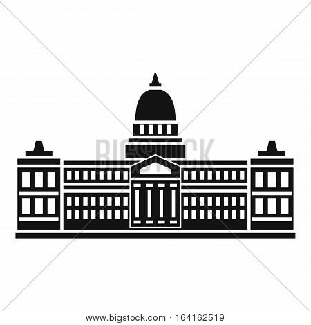 Palace of Congress in Buenos Aires, Argentina icon. Simple illustration of Palace of Congress in Buenos Aires, Argentina vector icon for web