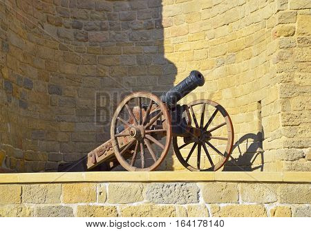 Old cannons in Baku Old City(Icheri sheher)
